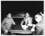 Franklin Delano Roosevelt & Joseph Stalin at the Yalta Conference, Feb. 4, 1945