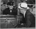 Franklin Delano Roosevelt and Winston Churchill at Quebec II Conference, Sept. 14, 1944