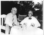Harry S. Truman and Franklin Delano Roosevelt at the White House, Aug. 18, 1944