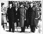 Franklin Delano Roosevelt and Gen. John Pershing, Armistice Day, Nov. 11, 1936