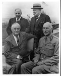 Franklin Delano Roosevelt, Churchill, Mackenzie King, and Earl of Athlone at Quebec I Conference
