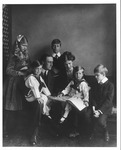 Franklin Delano Roosevelt and Eleanor with their children in Washington, D.C., June 12, 1919