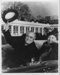 Franklin Delano Roosevelt and Eleanor at his inaugeration, Jan. 20, 1941