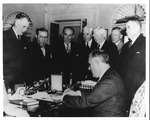 Franklin Delano Roosevelt repealing the Neutrality Act, Nov. 17, 1941