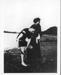 Franklin Delano Roosevelt and Eleanor at Campo (Campobello Island), Canada, 1913