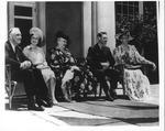 Franklin Delano Roosevelt, Eleanor, with King George VI during Royal Visit, June 11, 1939