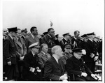 Franklin Delano Roosevelt and Winston Churchill at Argentin, Newfoundland Conference, Aug. 1941