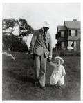 Franklin Delano Roosevelt and daughter Anna at Campobello, 1907