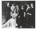 Franklin Delano Roosevelt & Eleanor at son Elliott's first wedding, to Elizabeth Donner, Jan 16, 1932