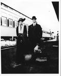 Franklin Delano Roosevelt and Eleanor enroute to Campobello, 1910