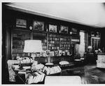 Living room at Franklin Delano Roosevelt's Hyde Park residence