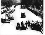 Franklin Delano Roosevelt and King George VI in parade, June 8, 1939