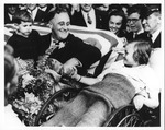 Franklin Delano Roosevelt and Melody Bresine, Seattle, Wash., Sept. 22, 1932