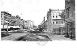 3rd Ave, East from 9th St., Huntington, W.Va., postcard, 1906
