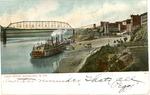 Ohio River wharf, Wheeling, W.Va., 1906