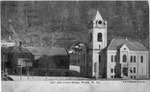 Jail and Courthouse, Welch, W.Va., 1907