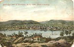 Birds-eye view of Charleston, W.Va., 1854, from a painting