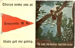 Greeting card from Nestorville,W.Va., 1915
