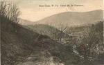 Near Cass, W.Va., Cheat Mountain in background, 1916,