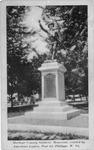 Barbour County Soldiers' Memorial, Philippi, W.Va., 1926