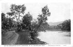 Greenbrier River, Lewisburg, W.Va., on the Midland Trail, 1930