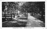 Looking North in Park, Berkeley Springs,, WVa