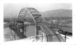 Fort Henry Bridge, Wheeling, W.Va., 1955