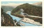 C&O RR bridge over New River, Gauley Junction, W.Va.