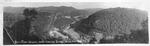 Panoramic view of New River Canyon near Gauley Bridge,W.Va.
