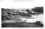 Steamboat fleet at Kanawha Dock, Point Pleasant,W.Va