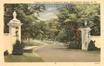 Gateway entrance to Greenbrier Hotel, White Sulphur Springs, W.Va