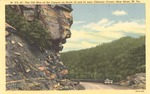 Old Man of the Canyon (Mountain), near Chimney Corner, New River, W.Va