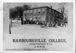 Barboursville College, Barboursville, W.Va., 1889