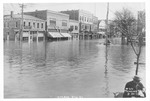 1913 flood, 4th Ave & 8th Street , Huntington by Thomas Photo