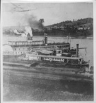Two steamboats at the Ashland Coal Works, ca. 1900