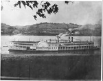 Packet steamboat Bostona, ca. 1900