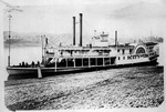 Small packet steamboat City of Ironton, ca. 1882