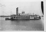 Steamboat Joe Fowler, at Evansville, Ind. ca. 1900