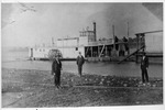 The Catlettsburg, Ky wharfboat, the Maxie Yost, ca. 1898