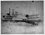 Steamboat St. Lawrence run aground, 1886,