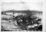 Steamboats at wharf, ca. 1904