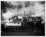 Sidewheel steamboat Thealka, ca. 1900