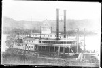 Cincinnati & Wheeling steam packet boat Wild Wagoner, ca. 1876