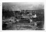 Steamboats at Cincinnati wharf, 1905