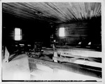 Interior Four Mile Baptist Church,Lincoln County, W.Va., 1926