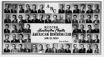 Roster of Huntington Chapter, American Business Club, Jan. 1950,