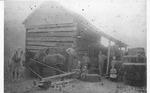 Bailing hay in Lincoln Co., W.Va.