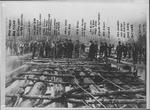 Raftsmen at Guyandotte, W.Va.