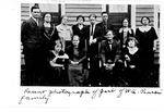 W.A. Parsons' family