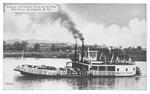 Steam ferry boat Paul F. Thomas